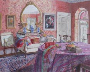 "Autumn Light, Bunclody   watercolour   16"" x 20"""