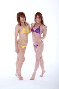 Kairi Hojo with Mika Shirahime
