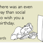 Social Media & Birthdays