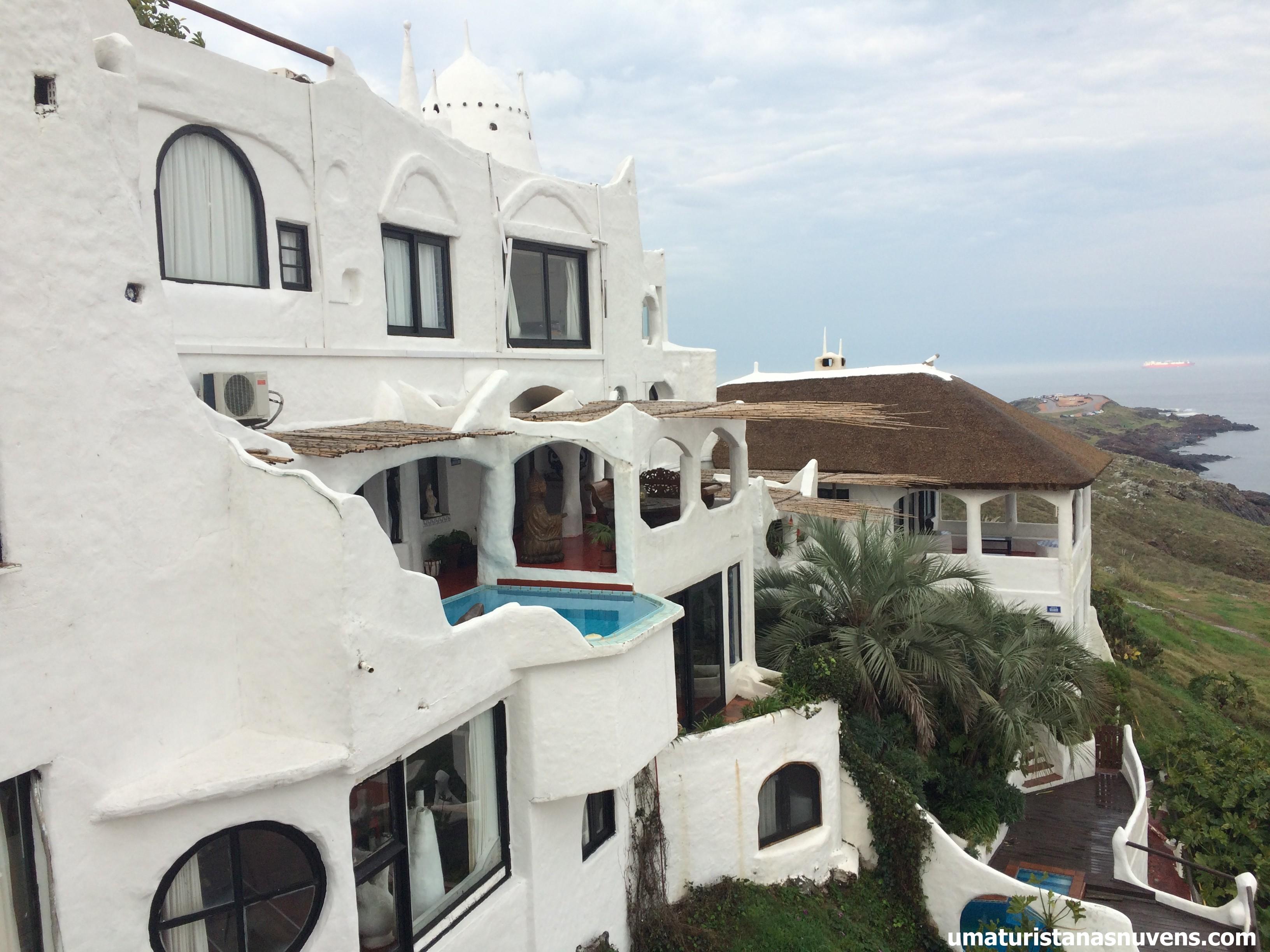 A magnífica Casapueblo em Punta Ballena, ao lado de Punta Del Este