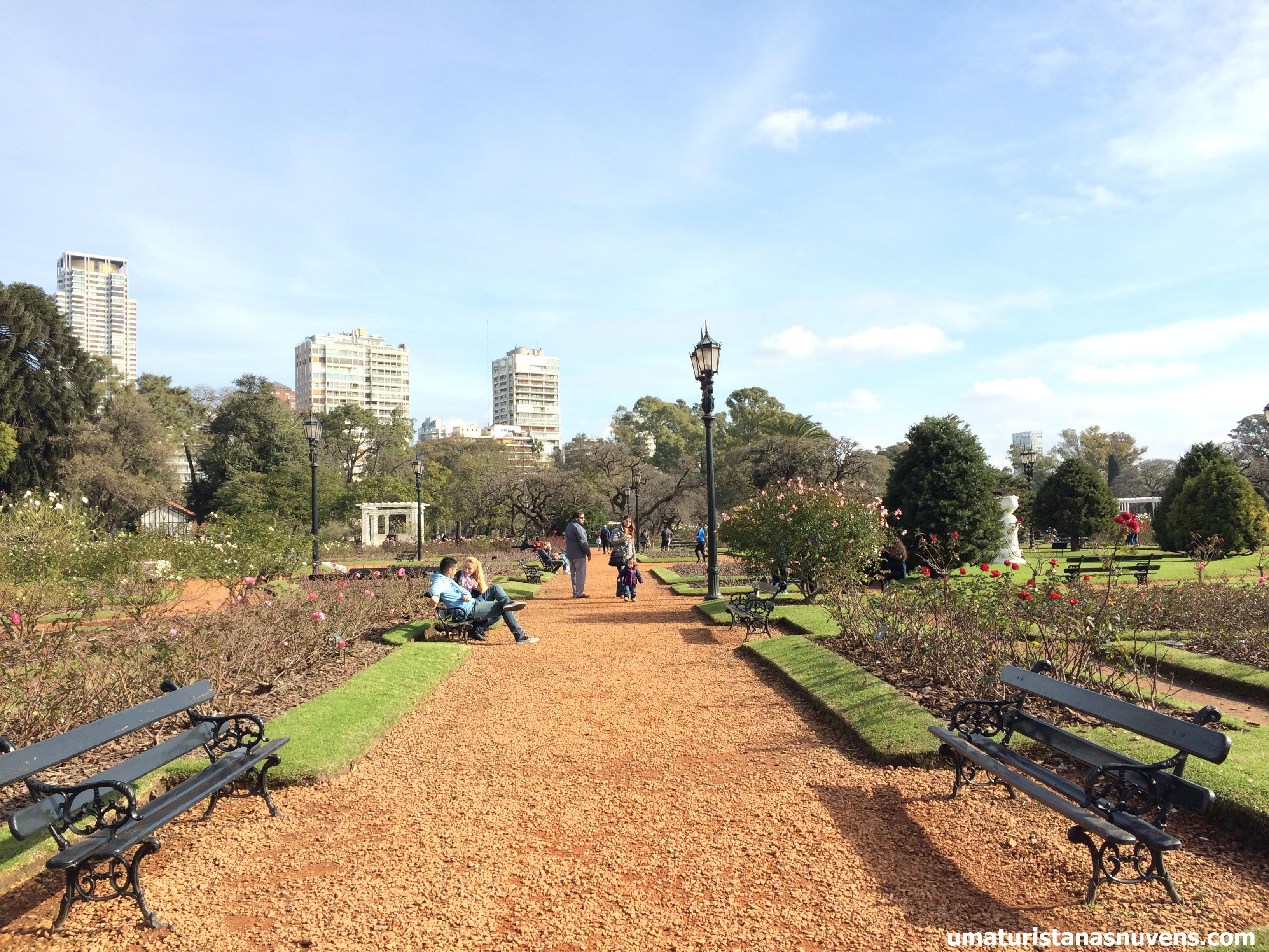 Buenos Aires: o magnífico Rosedal dos Bosques de Palermo