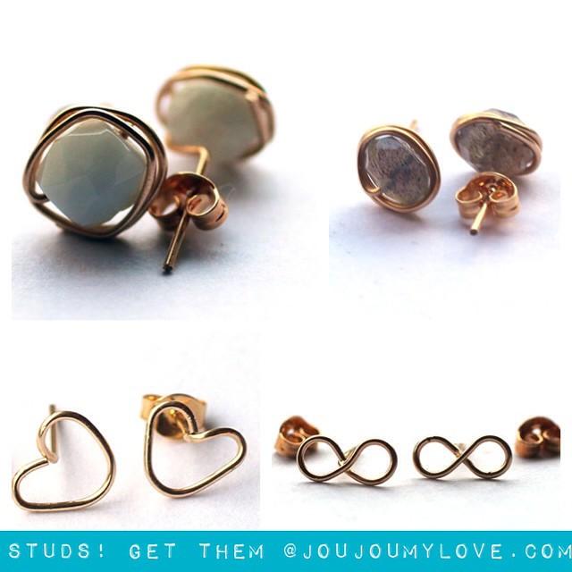 studs-post-earrings-simple-earrings-jewelry-handmade