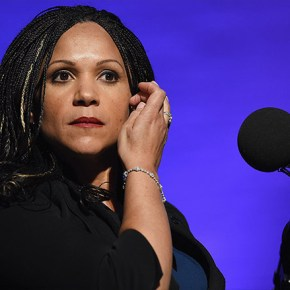 """I'll never get another penny from MSNBC,"" Melissa Harris-Perry said. (Credit: MSNBC)"