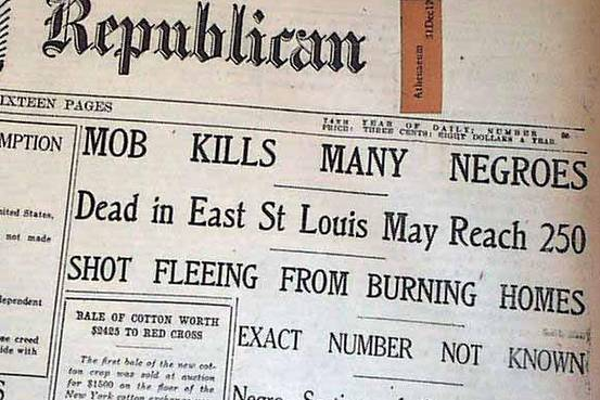 St. Louis Missouri Republican from July 1917 (Credit: Wall Street Journal)