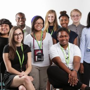 Detroit Free Press apprentices (Credit: Ryan Garza, Detroit Free Press)