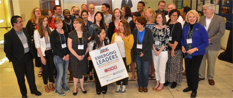 "The American Society of News Editors created ""Emerging Leadership Institutes"" such as this one held in June at Loyola University in Chicago, to increase diversity in news leadership. (Credit: Ralph Braseth, Loyola Chicago School of Communication)"