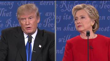 """Donald Trump was seen as unprepared. Hillary Clinton said during Monday's debate, """"I think Donald just criticized me for preparing for this debate. And, yes, I did. And you know what else I prepared for? I prepared to be president. And I think that's a good thing."""""""