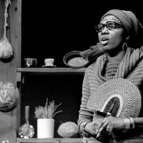 "Vertamae Smart-Grosvenor, hosting the public television show ""Soul!"" on New York's WNET-TVin 1971. (Credit: Chester Higgins Jr./New York Times"