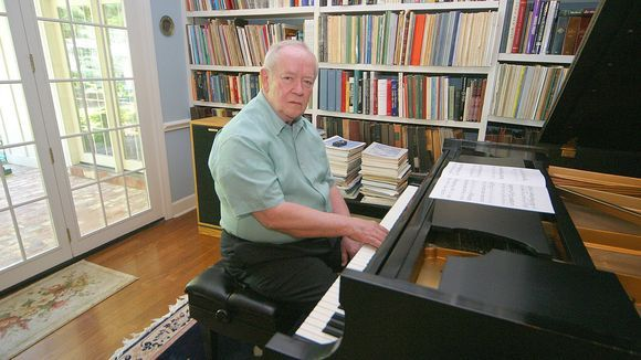 Stanley Dearman, the 84-year-old retired editor and publisher of the Neshoba Democrat in Philadelphia, Miss., was an accomplished classical pianist. (Credit: Steven G. Watson/Neshoba Democrat)
