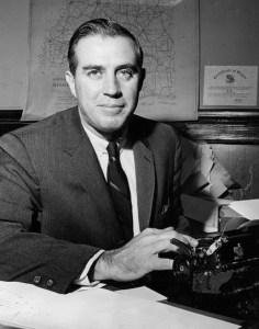 Bill Minor in 1956