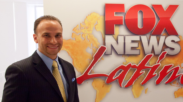 Francisco Cortés started at Fox as an apprentice, then rose through the ranks to become Fox News Latino's first director.