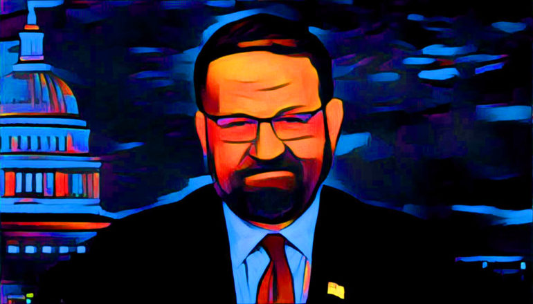 Sebastian Gorka (Credit: Reveal)