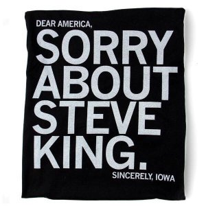 Image of an Iowa T-shirt, posted on Twitter.