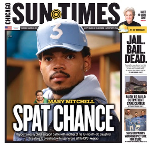 Thursday's Chicago Sun-Times