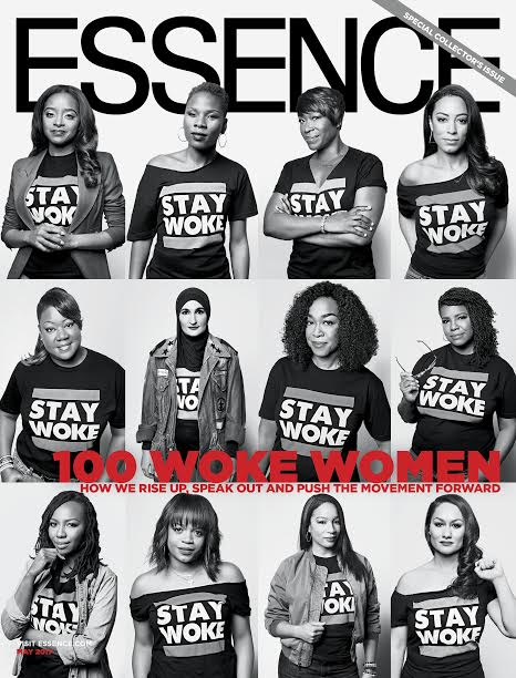 "Veteran journalist Joy-Ann Reid of MSNBC and political commentator Angela Rye are among 12 women featured on Essence magazine's ""100 Woke Women"" May anniversary issue."