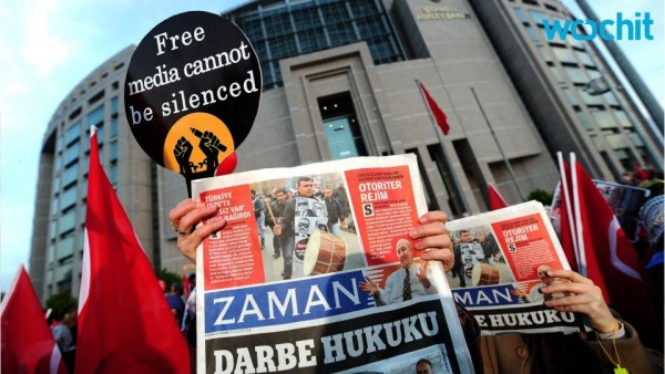Turkey holds at least 81 journalists in jail, according to data compiled by the Committee to Protect Journalists. (Credit: Yalibnan.com)