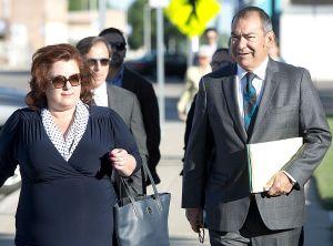 Jim Avila walks to court (Credit: Tim Hynds/ Sioux City Journal)