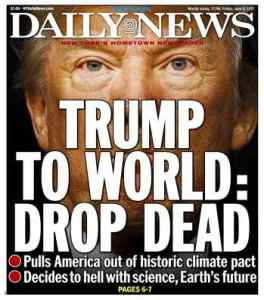 Daily News in New York