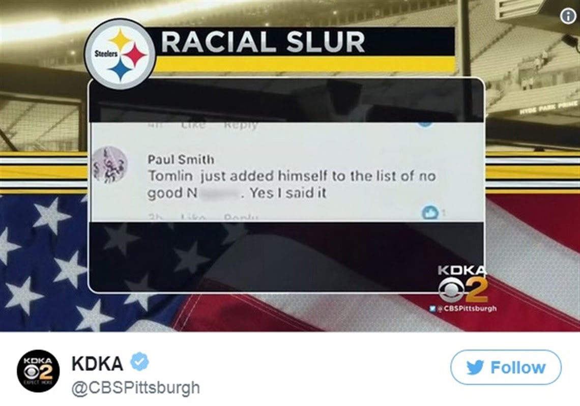 """"""" Former fire chief Paul Smith wants everyone to know the Facebook post that got him fired from his gig at the Muse Volunteer Fire Department in Cecil Township was not the result of racial malice or bigotry."""""""