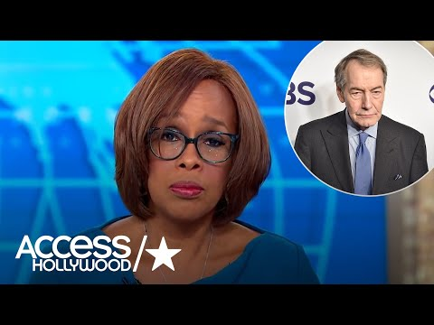 Gayle King's remarks about Charlie Rose were replayed on programs up and down the dial.