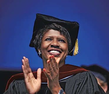 Gwen Ifill (credit: Simmons College)