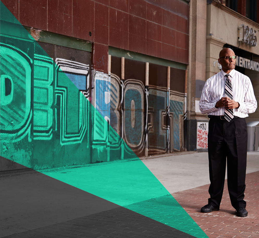 Walter Middlebrook has been in Detroit since 2007.