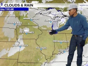 Chance the Rapper does the weather.