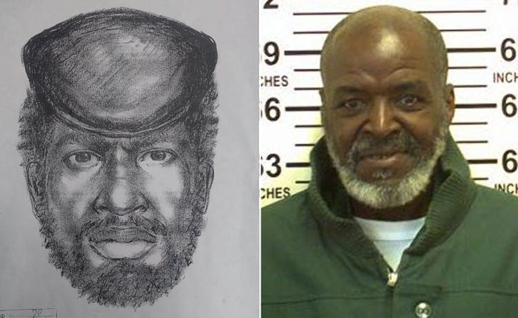 The victim was right. The sketch matched. So did the DNA. (Credit: NYPD/NYC Dept. of Corrections)
