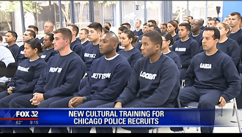 The Chicago Police Department adds the DuSable Museum of African American History to the curriculum for new recruits (Credit: Fox32 Chicago)