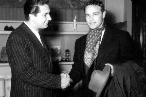 Brando made motorcycle jackets and denim look good, but he could also give an ascot its due.
