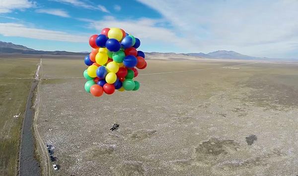 A Balloons Eye View – My GoPro Adventure