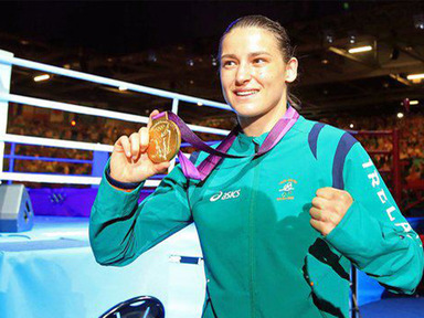 ..and her name was Katie Taylor!
