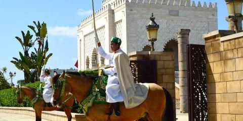 Imperial Guard at Rabat