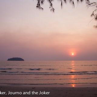 Sunset from Otres Beach, Cambodia