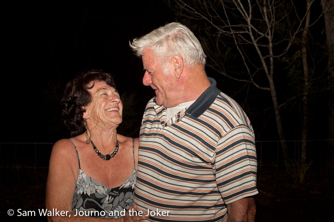 Pat and Cobber Allsop celebrating 50 years of marriage