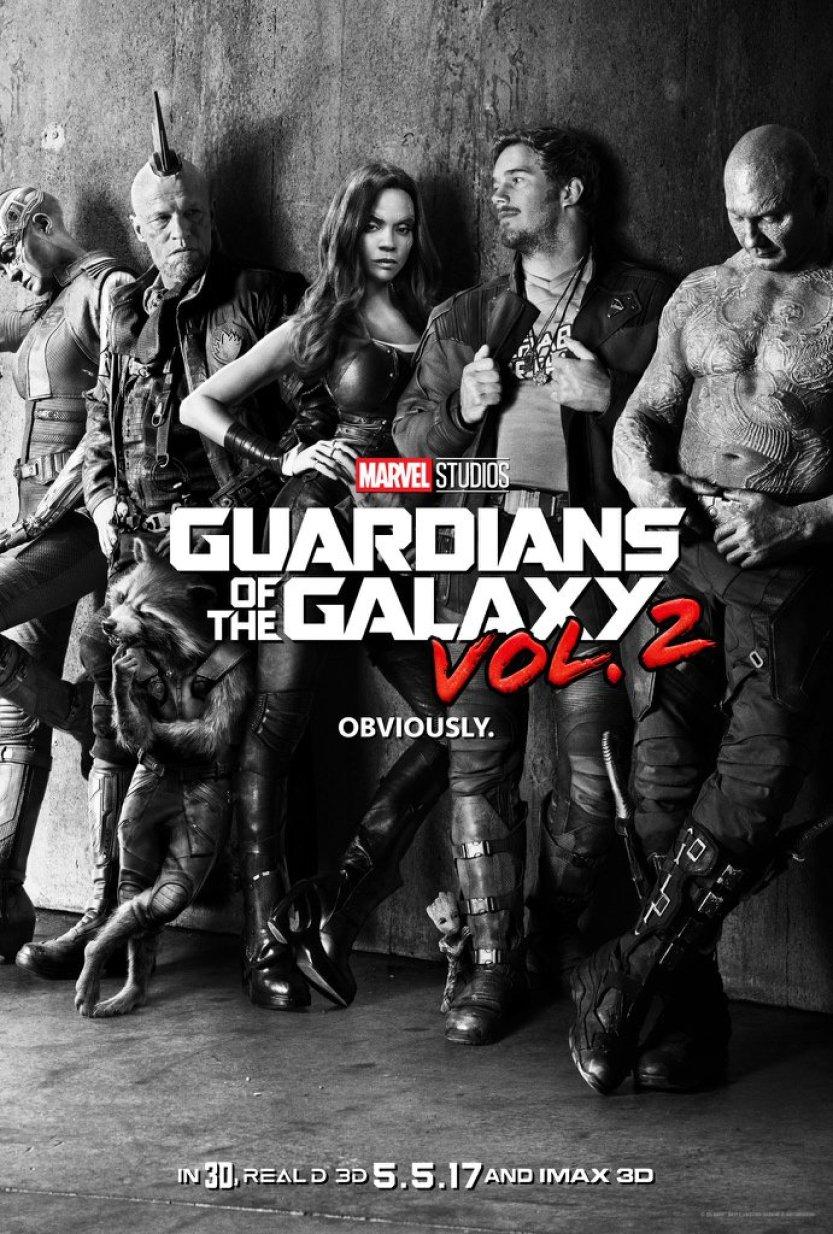 Resultado de imagem para guardiões da galáxia vol 2 poster
