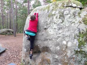 Terra dominating the rock!