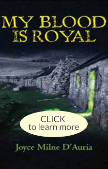 My Blood is Royal book cover- Learn More button
