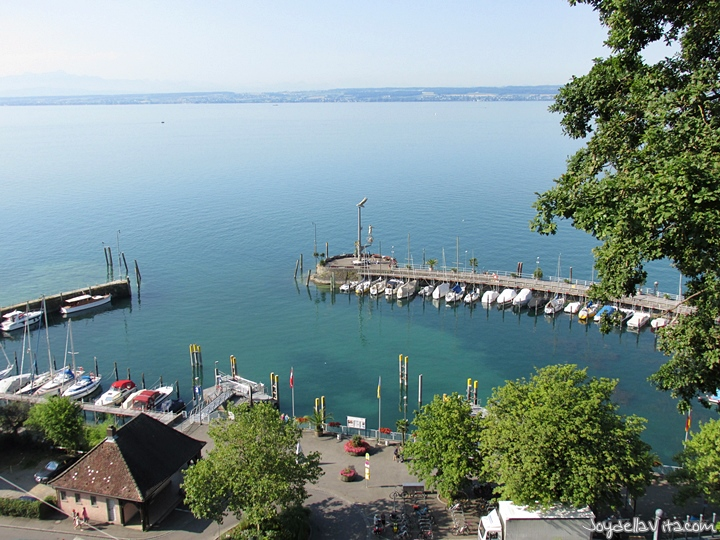 Places with a view in Meersburg at Lake Constance - Joy della Vita - Travelblog