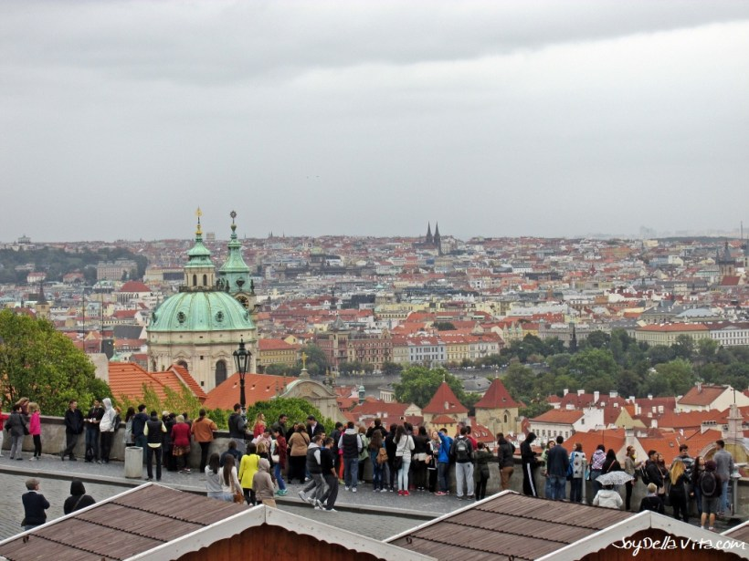Places with a view in Prague, Czech Republic