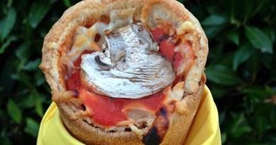 Pizza Cono at Cono Pizza in Friedrichshafen