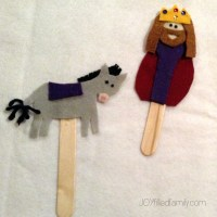 christ the king and donkey