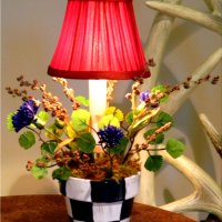Mackenzie Childs Inspired Accent Lamp