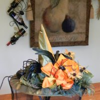 How to Make a Quick Witch Hat Centerpiece