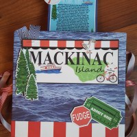 Exploding Pop Up Mackinac Island Scrapbook