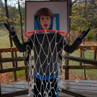 BASKETBALL HOOP HALLOWEEN COSTUME