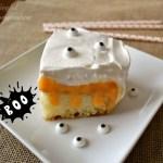 TruMoo Orange Scream Poke Cake