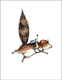 Skydiver Squirrel