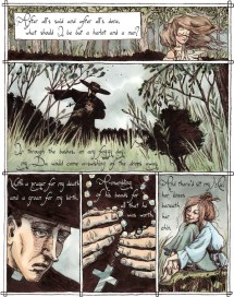 The Singing Woman from the Wood's Edge pg 5