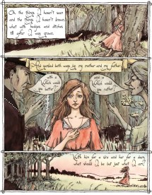 The Singing Woman from the Wood's Edge pg 7
